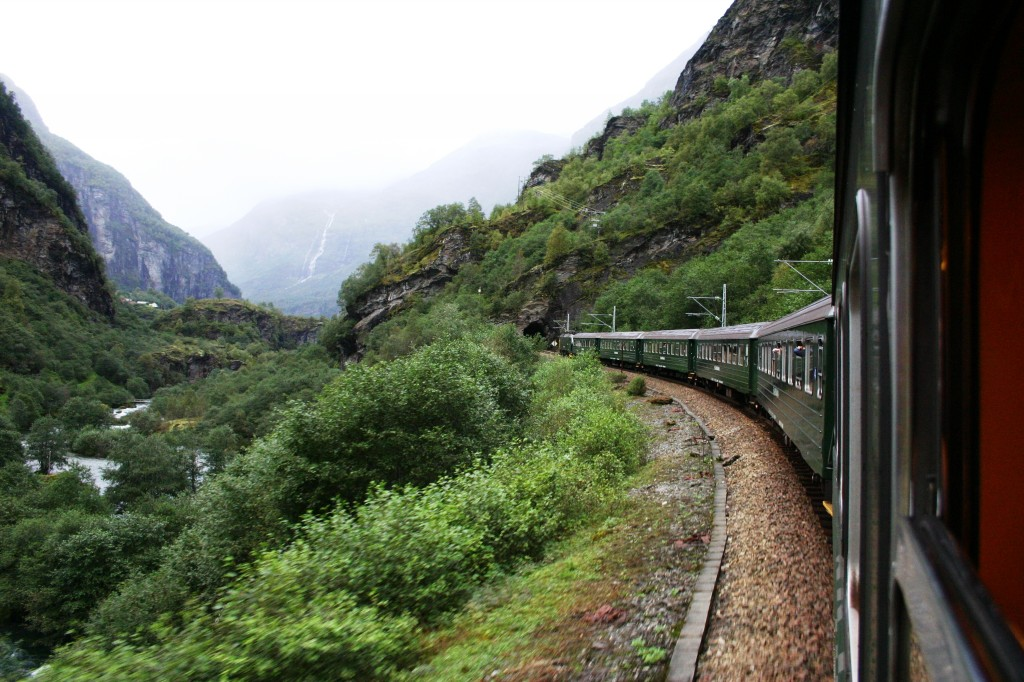 Flam Railway in Norway