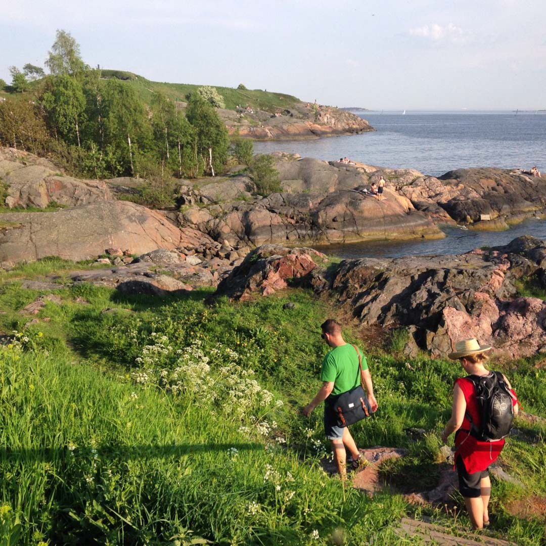 A walk around Suomenlinna