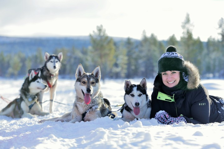 Nordic Photo of the Month -Husky Tour in the Wilderness of Lapland - Olga Turilova