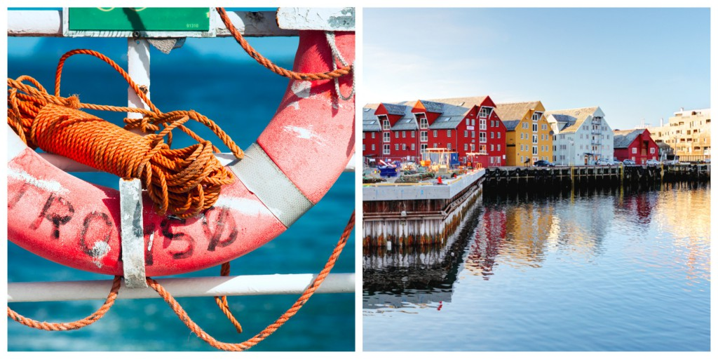 Tromso Harbour Collage