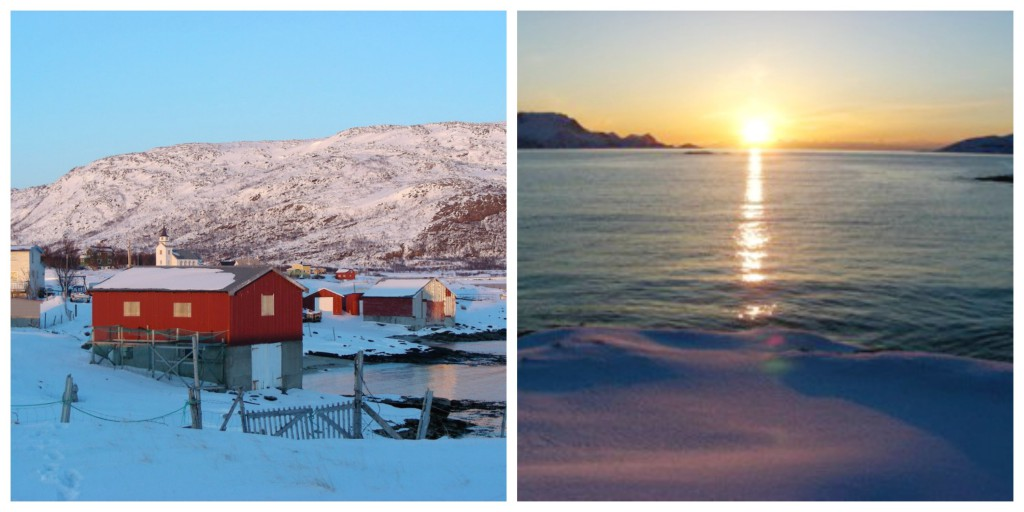 Tromso Sunset Collage