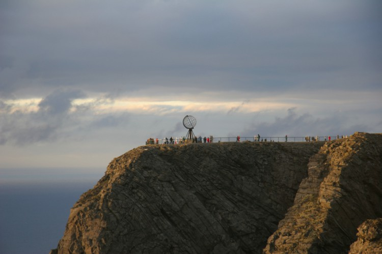 Incredible North Cape is the second northernmost point in Europe.