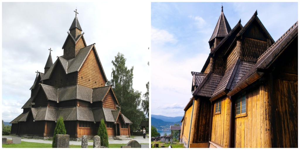 Stave Church Collage (Large)