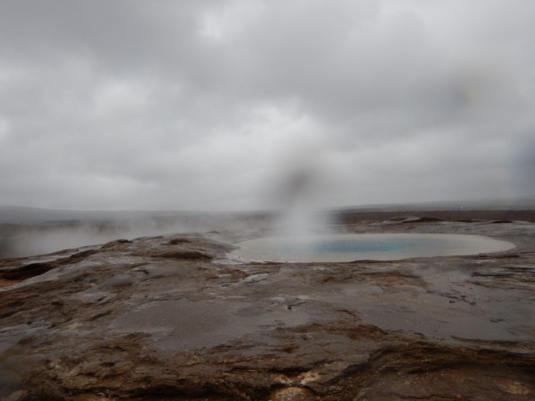hot spring at Geysir