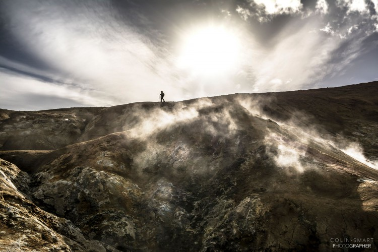 Colin Smart_Iceland Full Circle - Krafla volcano hike