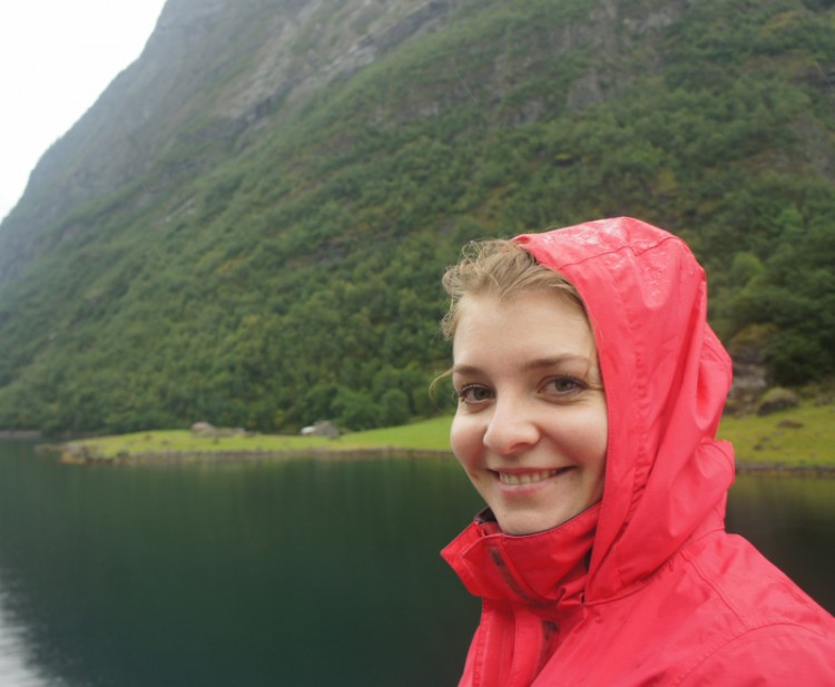 Petra in the rainy fjords