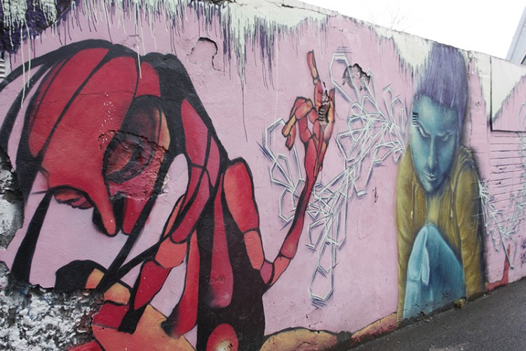 Reykjavík is a creative city, and the artistic talents of the residents are displayed in murals and graffiti throughout the city... still, respect the country you're visiting and leave the decorating to the locals.