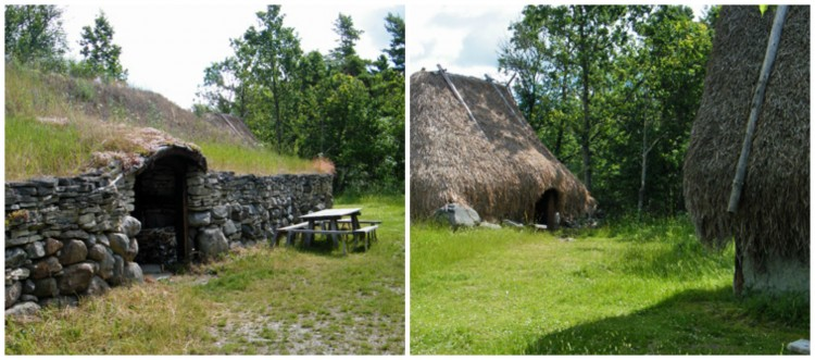 Step back in time with a visit to the Stavgard Iron Age Village. (Photo: Gotland.net)