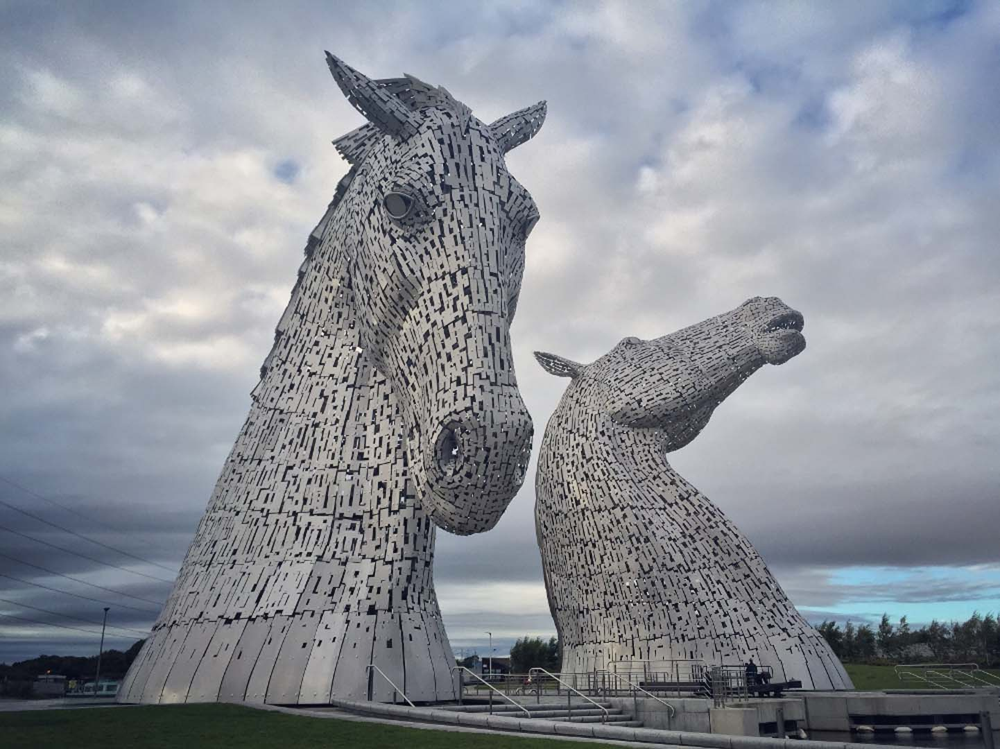 The Kelpies at Helix Park