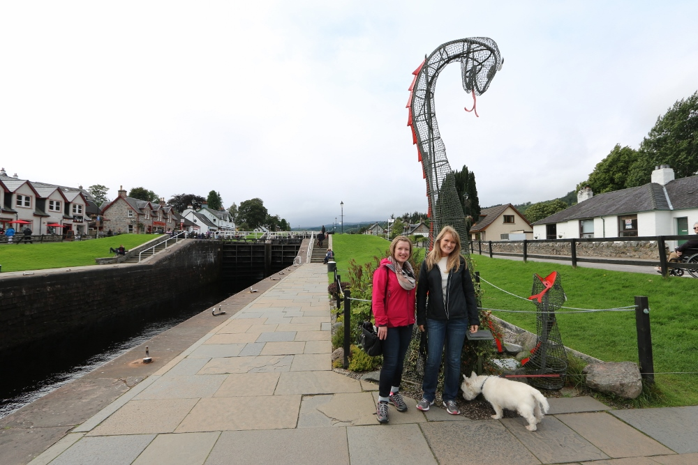 Nessie in Fort Augustus