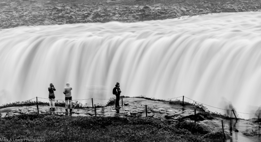 Mark Lewis - Dettifoss waterfall