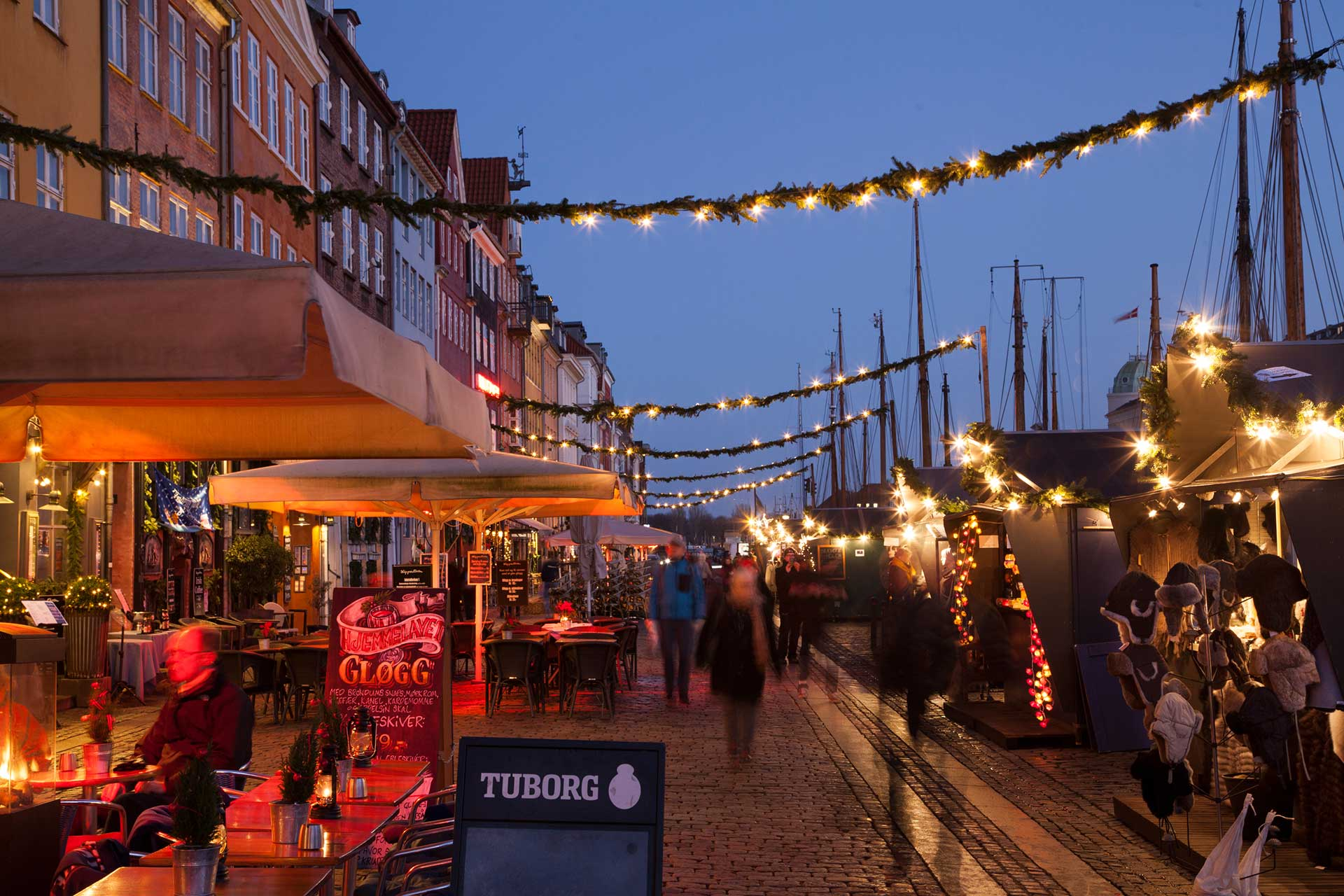 Nyhavn at Christmastime