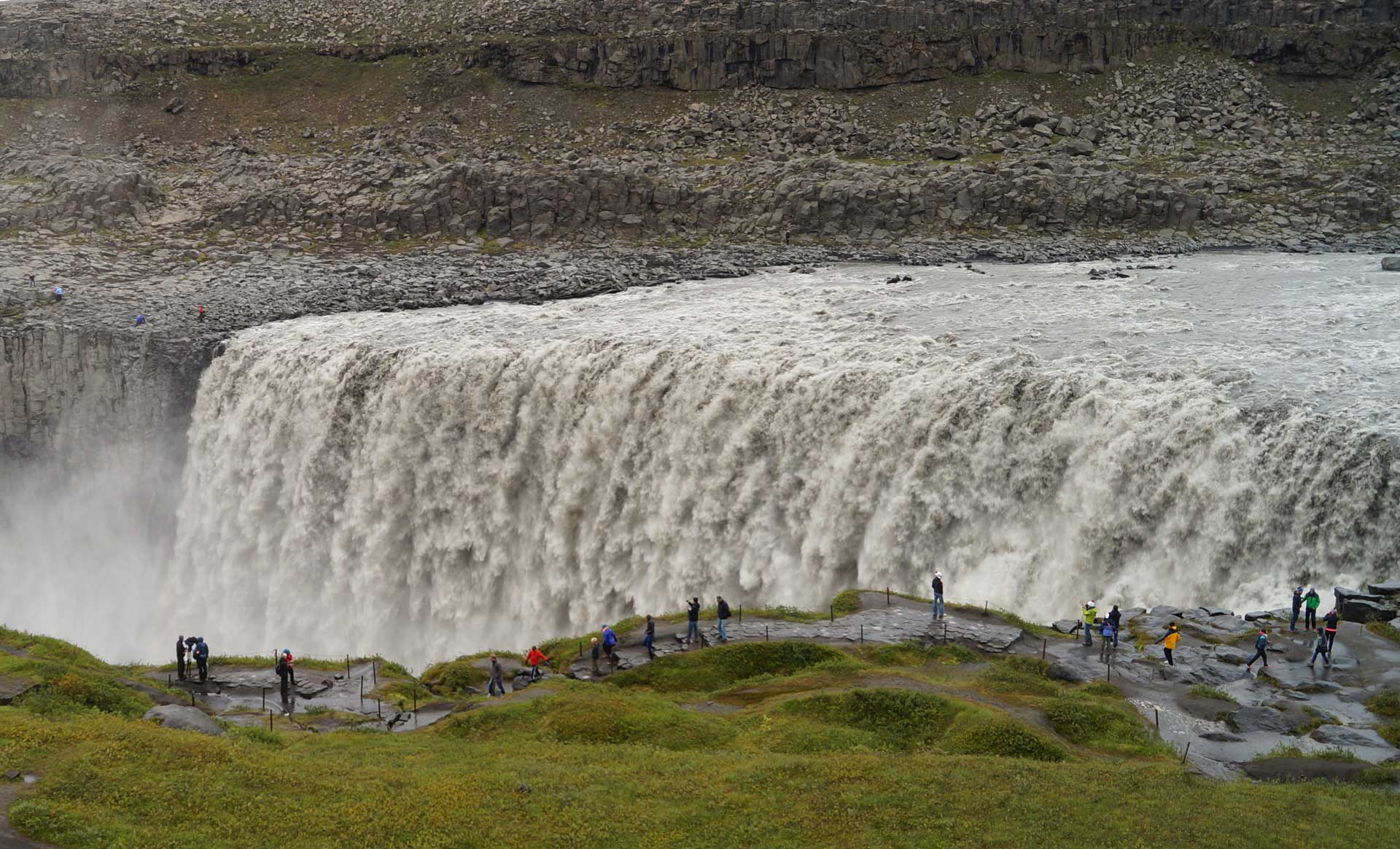 Dettifoss is Europe's most powerful waterfall