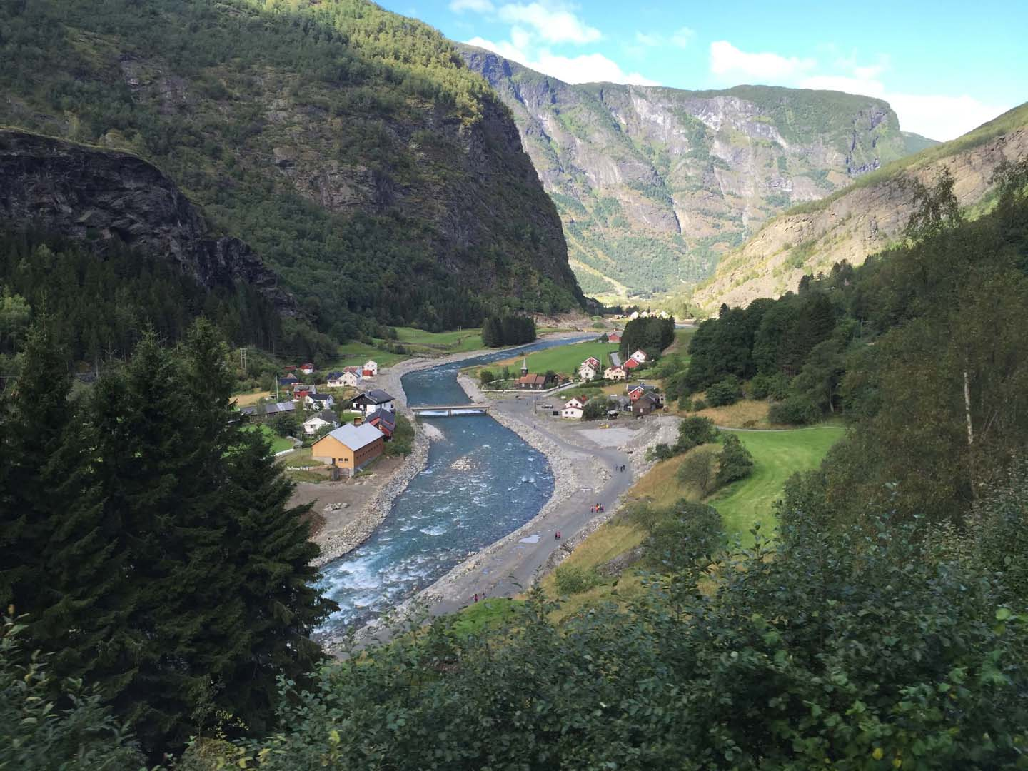 Norway in a Nutshell - Flam Railway scenery