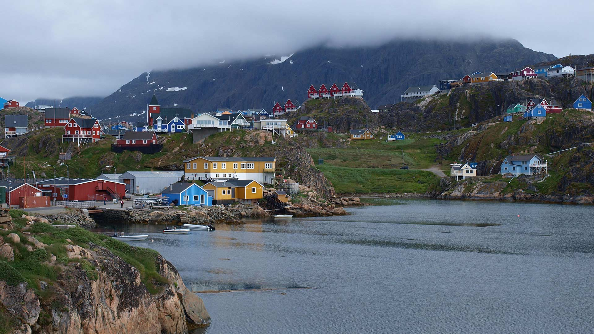 Sisimiut town in Greenland