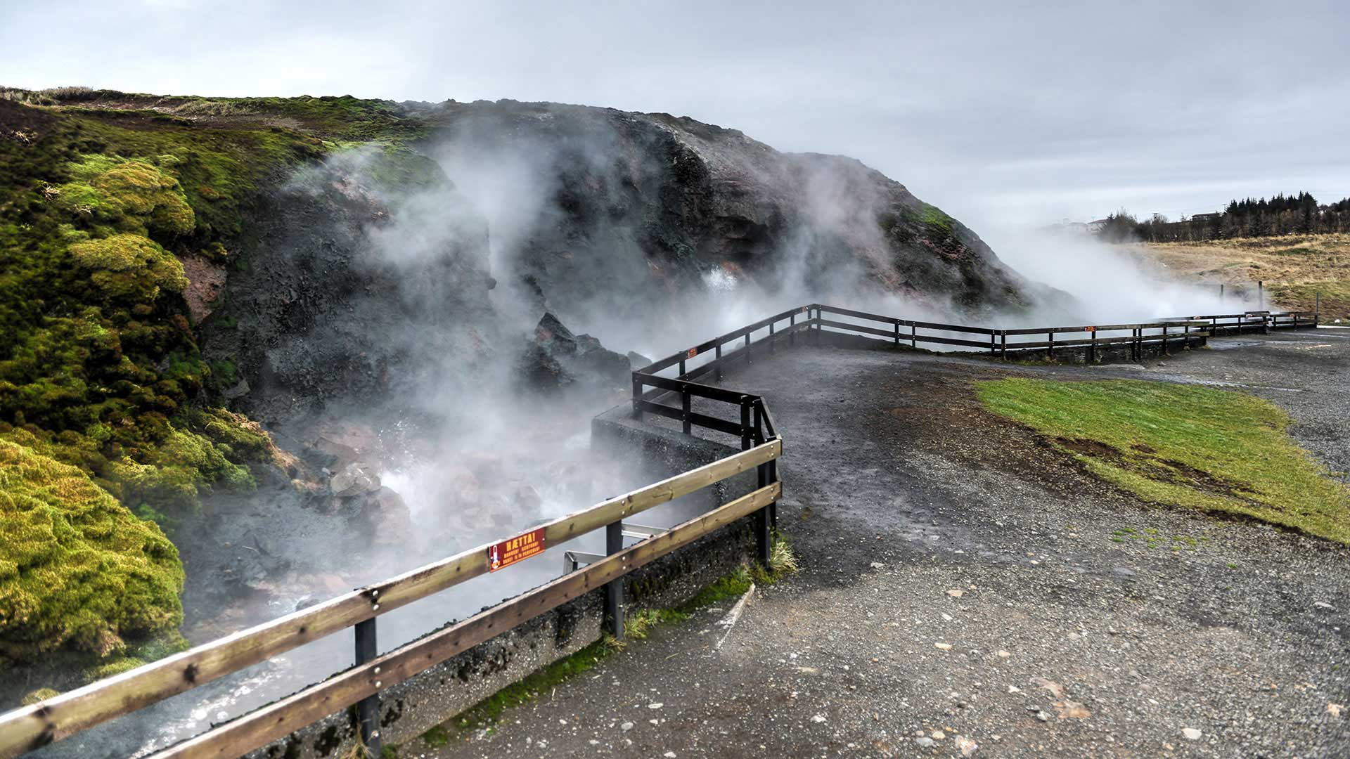 Deildartunguhver hot spring