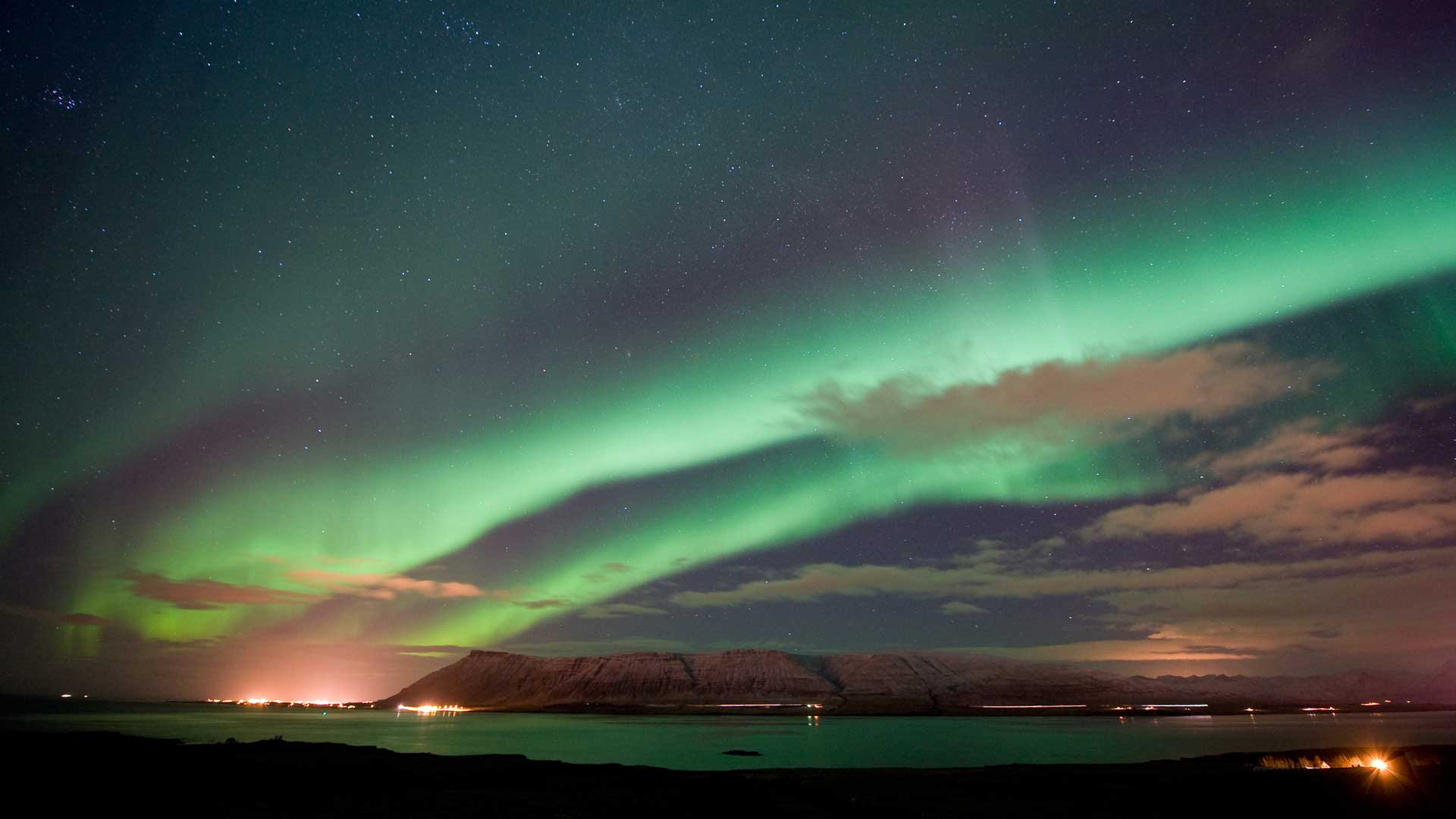 Westfjords northern lights adventure