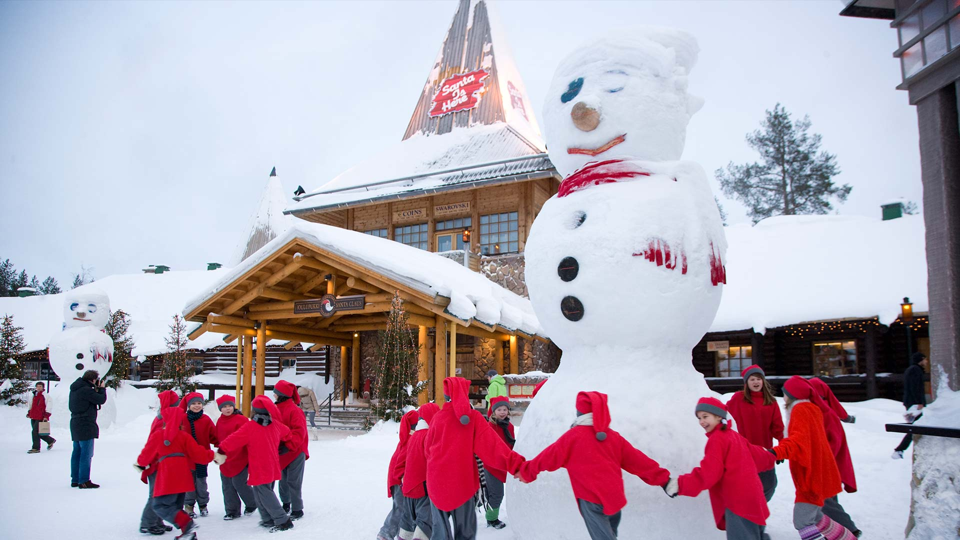 Image result for 2. SANTA CLAUS VILLAGE, FINLAND