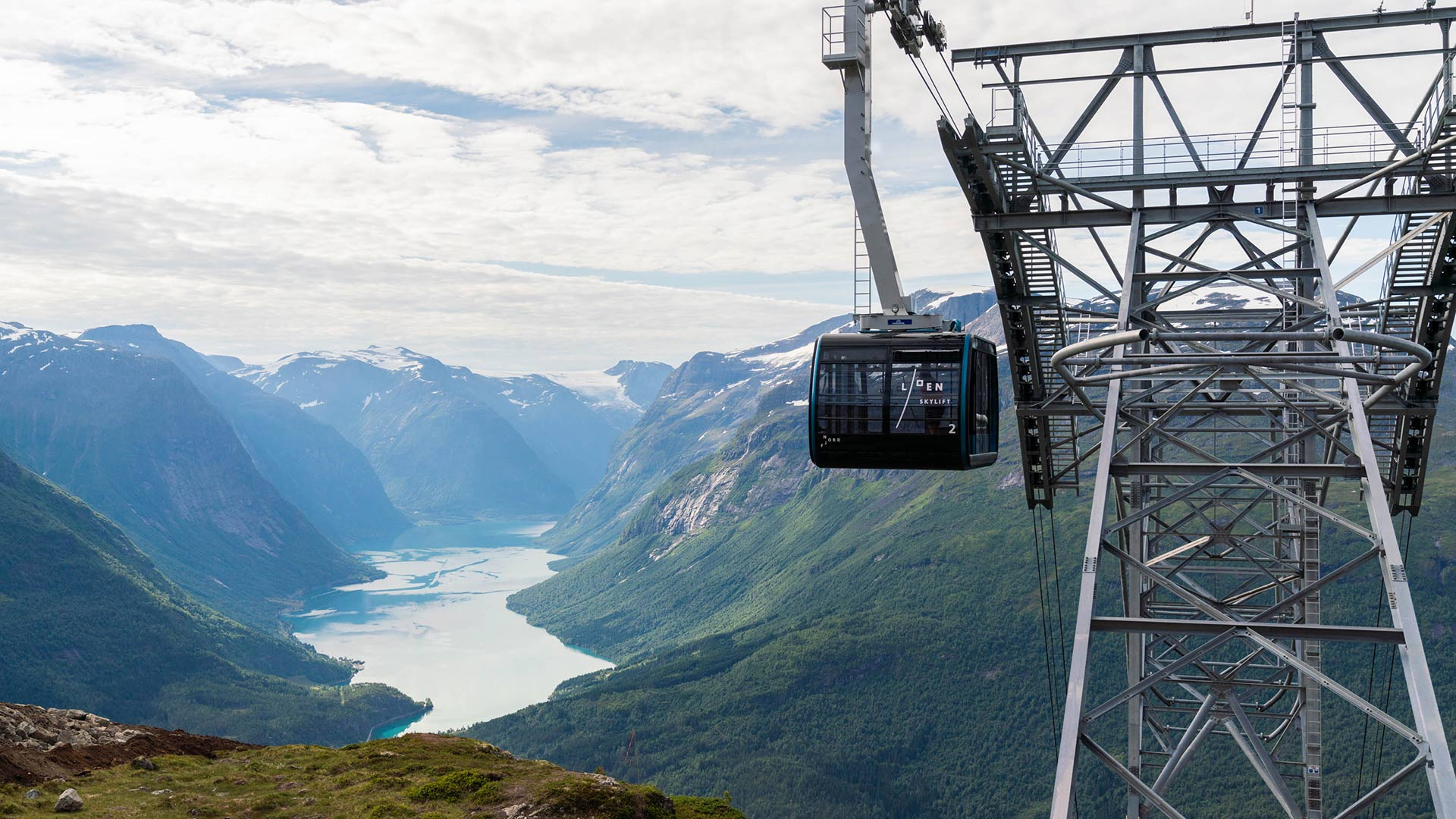 Loen Skylift in Norway