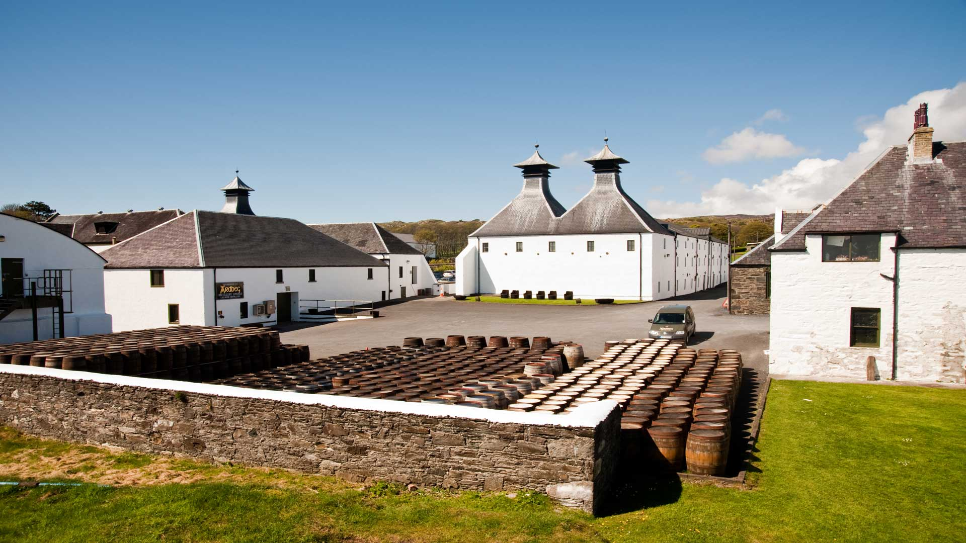 Ardbeg Distillery on Islay