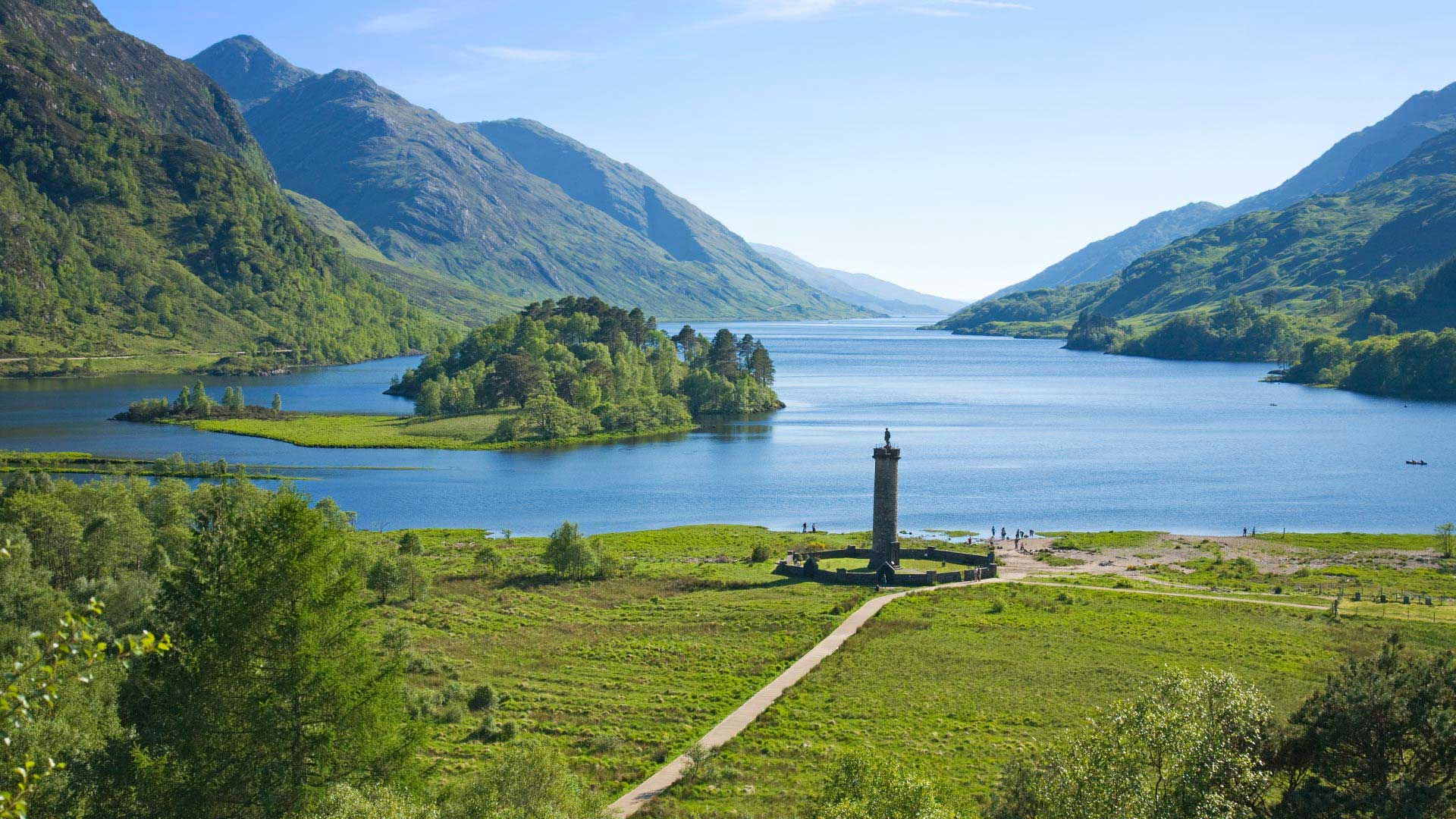 loch shiel at glenfinnan