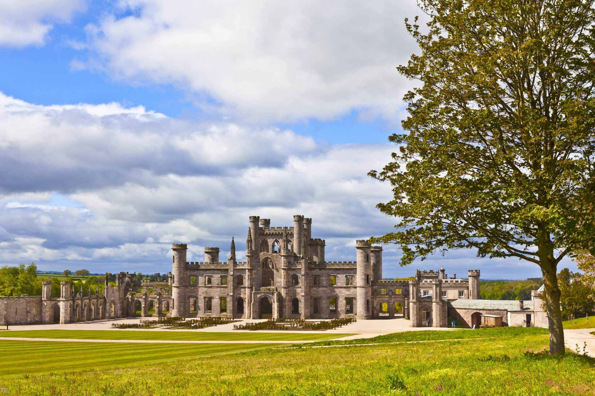 Lowther Castle, Lake District in England