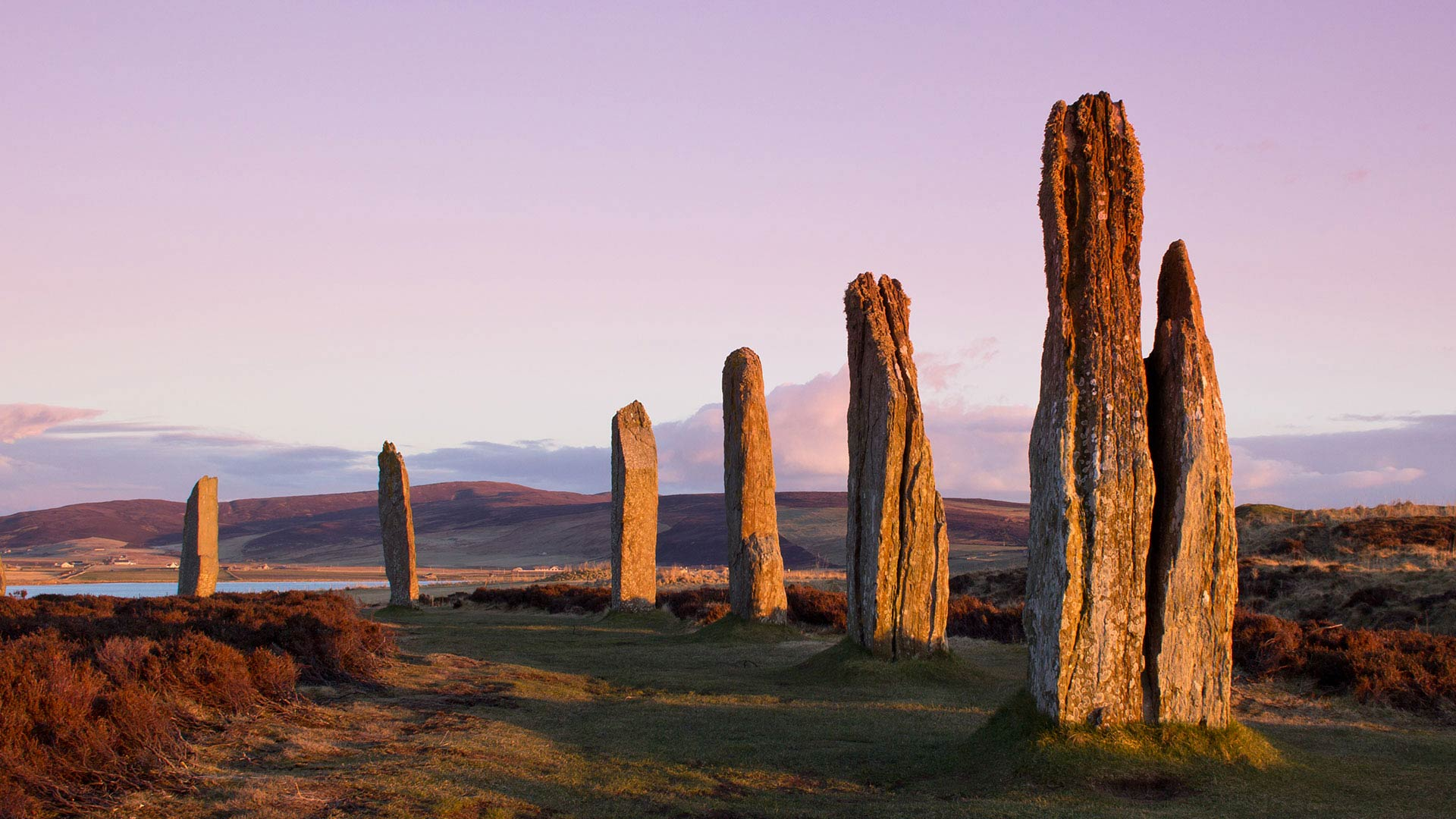 standing stone circle of brodgar