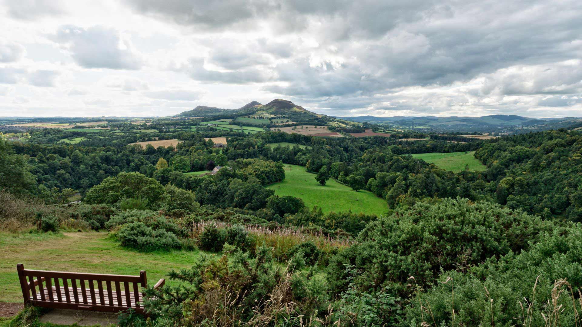 Scott's View in Scottish Borders - Dolfilms@DepositPhotos