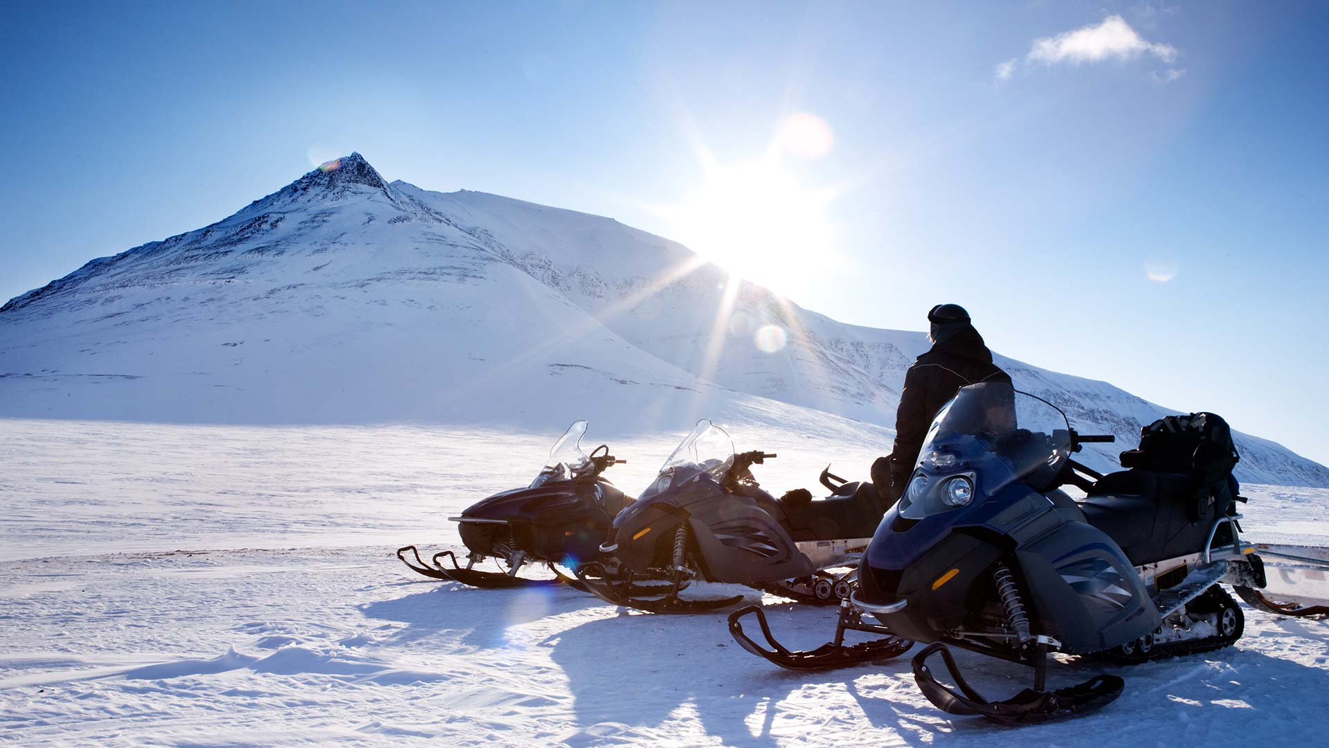 Svalbard Snowmobile Tours