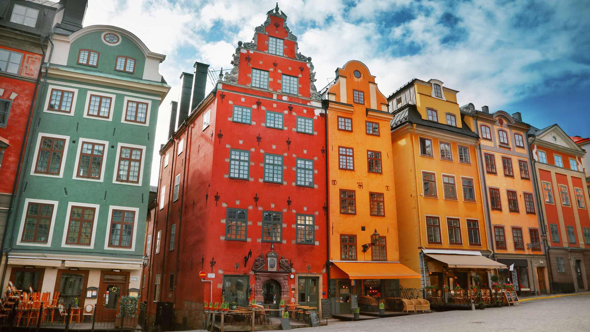 Old Town - Gamla Stan in Stockholm, Sweden