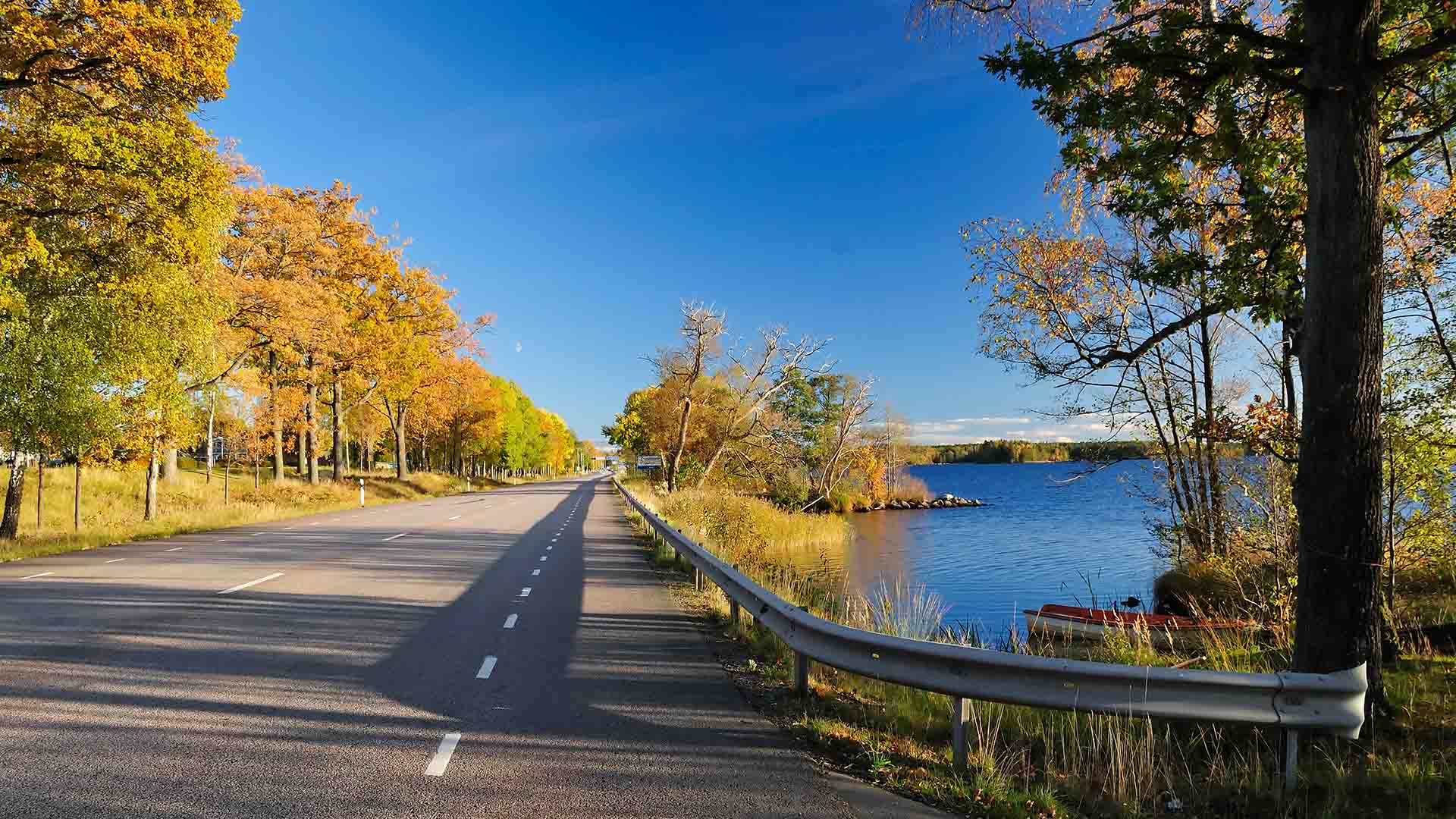 Sweden self-drive tour in autumn